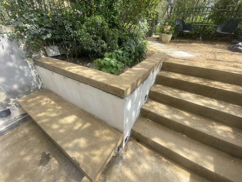 Polished outside concrete patio1